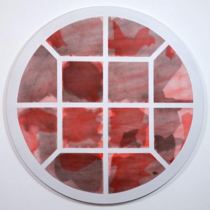 Various & Gould: Broken Windows – Zentralvieh und Schlachthof, Berlin 2018, aerosol on canvas, 140 x 140 cm