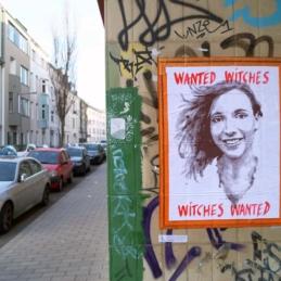 Anne Wizorek, #WitchHuntCologne, 2014