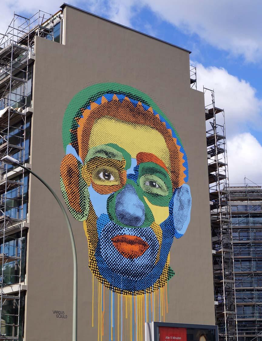 Face Time Wandbild, Berlin