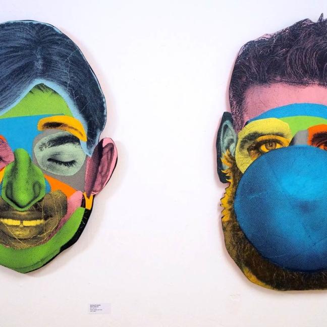 Various & Gould: Face Time (Cutout 01), (Cutout 03) @ Pretty Portal Galerie, Düsseldorf 2015