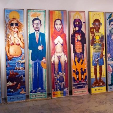 Various & Gould: St. Nimmerlein Serie @ 30works Galerie, Köln 2014