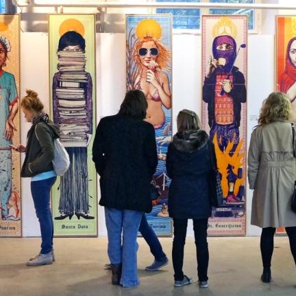 Various & Gould: St. Nimmerlein Serie @ Open Walls Galerie / Stroke, Berlin 2013