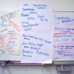 City Skins Workshop in Zusammenarbeit mit Archiv der Jugendkulturen / Graffitiarchiv, Berlin 2014