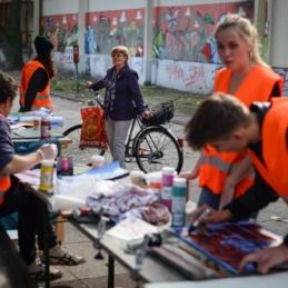 City Skins Workshop in Zusammenarbeit mit Archiv der Jugendkulturen / Graffitiarchiv, Berlin 2014 (Photo: Christina Palitzsch / christinapalitzsch.com)