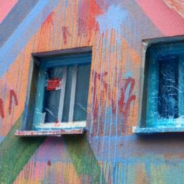 "Wandbild-Workshop (in Arbeit), Eltern-Kinder-Tagesstätte ""eene meene mopel"""