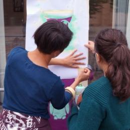 Workshop: Wünsch Dir Was! – Graffiti im Museum @ Museum Berggruen / Sammlung Scharf-Gerstenberg, Berlin 2014