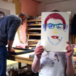 Siebdruck-Workshop: All in a Day's Work (Druck Berlin) @ Mother Drucker, Berlin 2014