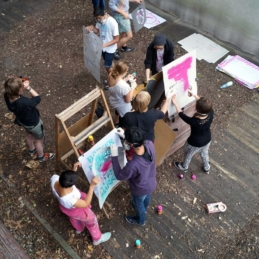 Protest poster workshop, Pottfiction / anschlaege.de, Dortmund 2014