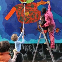 Monsterworkshop – ROCK THE BLOCK (Backjumps), Berlin 2012 (Photo: Fatal Boy)