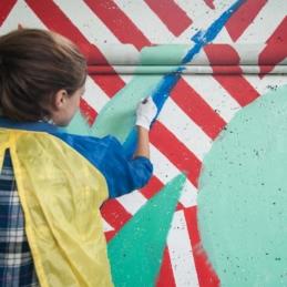 Street Meets Art – LOA Berlin (Lichtenberg Open ART), Berlin 2013 (Photo: Christina Palitzsch / christinapalitzsch.com)