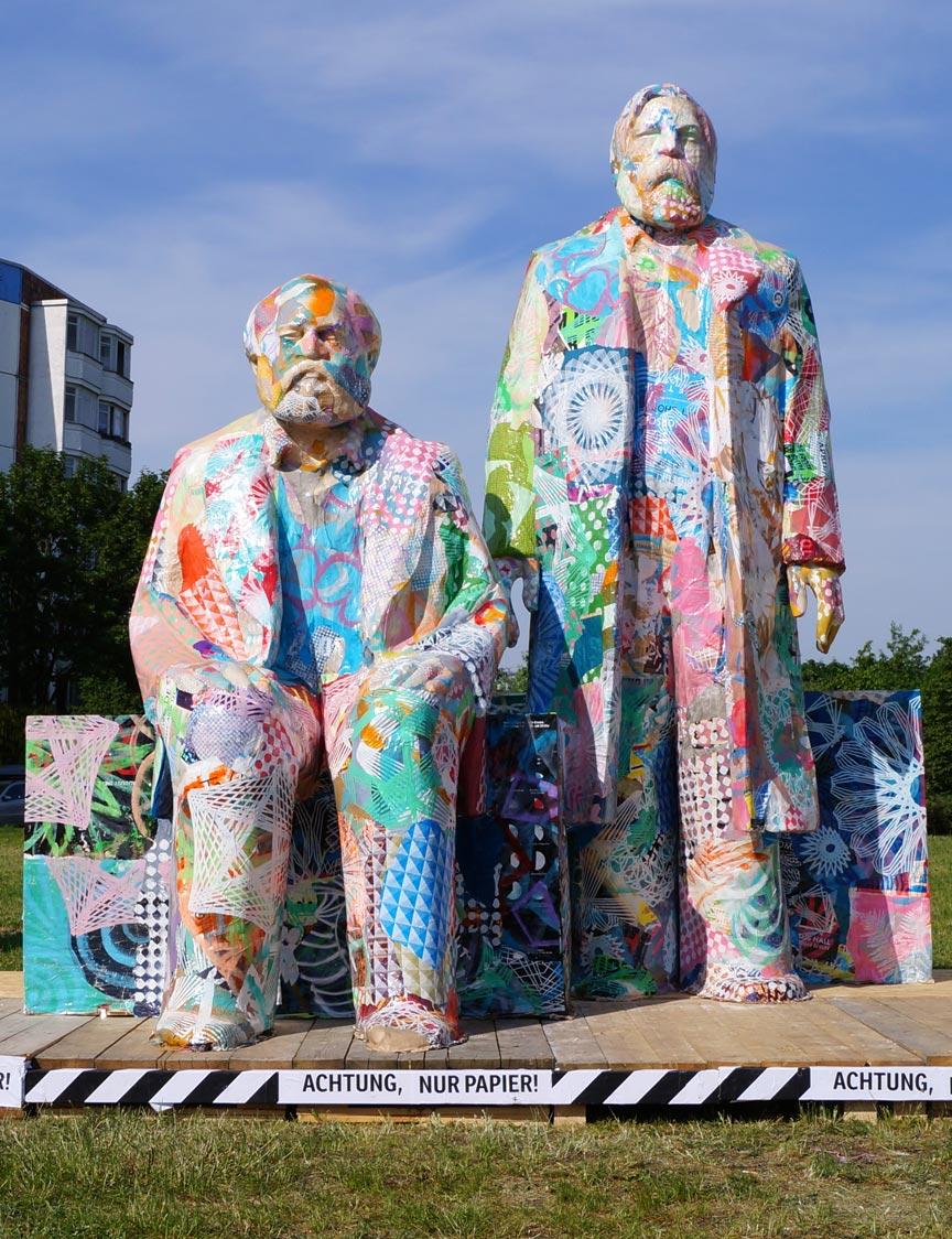City Skins – Marx und Engels, Berlin