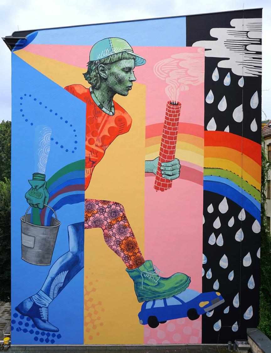 Dedicated to, Wandbild, Berlin