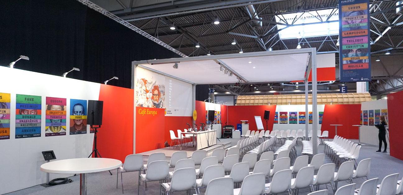 Europa21 @ Leipziger Buchmesse 2018