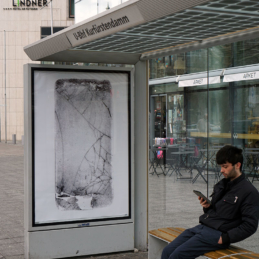 Various & Gould: Broken Screens, urban intervention, Berlin 2019